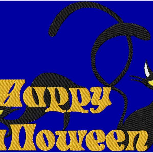 motifs de broderie Happy Halloween