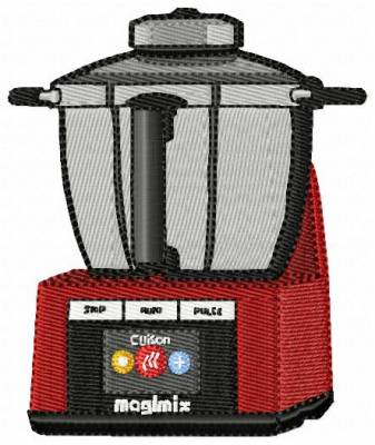 motif de broderie robot magimix de cuisine