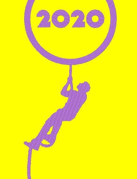 bientôt 2020 motif de broderie machine bonne année 2021