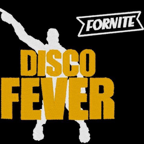 motif de broderie machine disco fever fornite