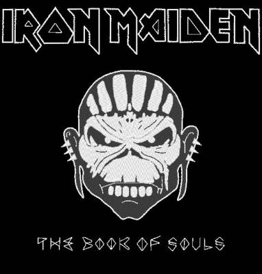 iron maiden the book of souls motif de broderie machine,Machine embroidery design