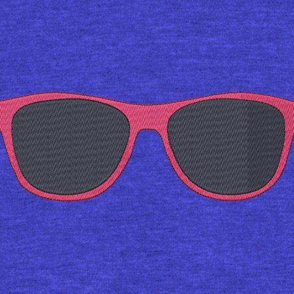lunettes de soleil motif de broderie machine gratuit de vacances