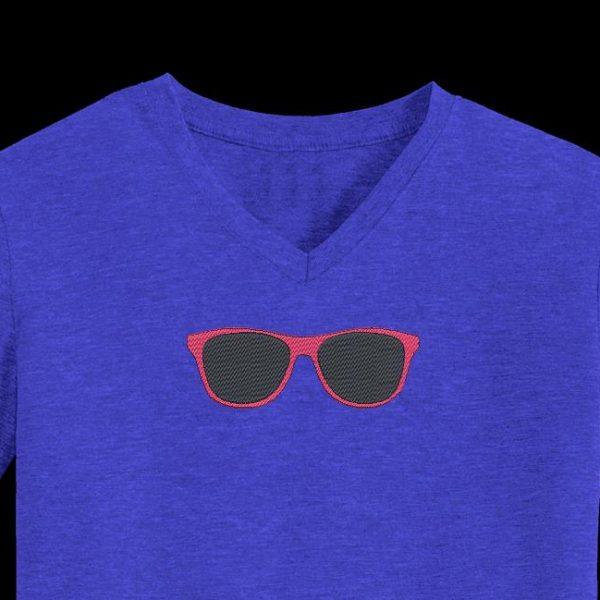 lunettes de soleil motif de broderie machine gratuit
