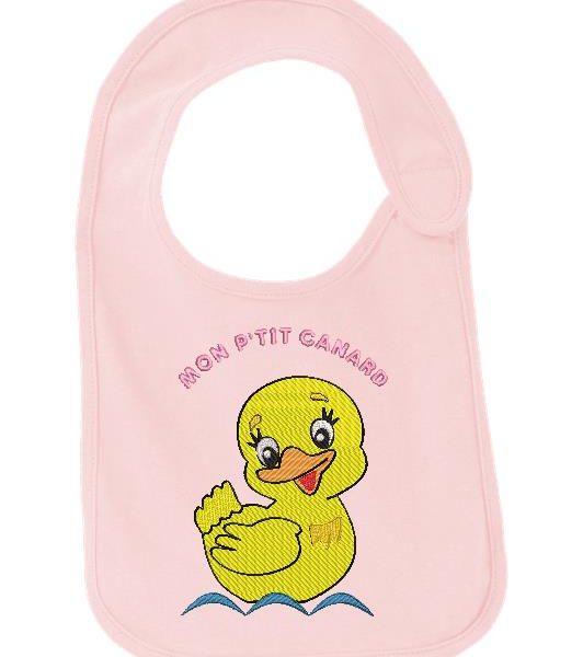 mon petit canard motif de broderie machine pour bébés