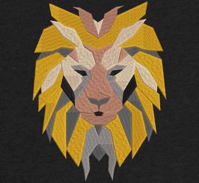 tête de lion géométrique Motif de broderie machine d'une tête de lion en formes géométriques . cadre 10 x 10 / 20 x 20 Formats des fichiers PES,CSD,EXP,HUS,SHV,VIP,XXX,DST,PCS,JEF,VP3,EMB… Téléchargement immédiat après votre paiement N'hésitez pas à nous demander le format de fichier de broderie compatible avec votre machine . Merci