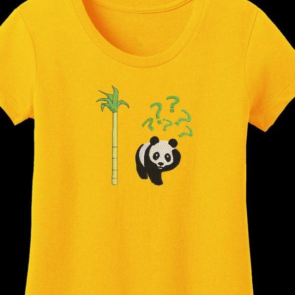 Motif de broderie machine vous avez dit bambou