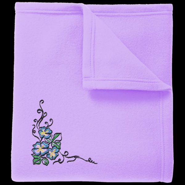 Motif de broderie machine composition florale 5.