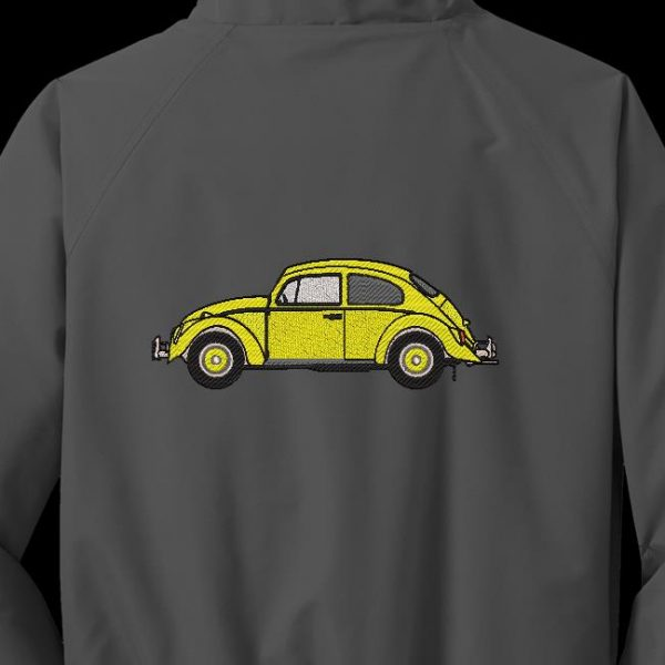 Motif de broderie machine Volkswagen Coccinelle