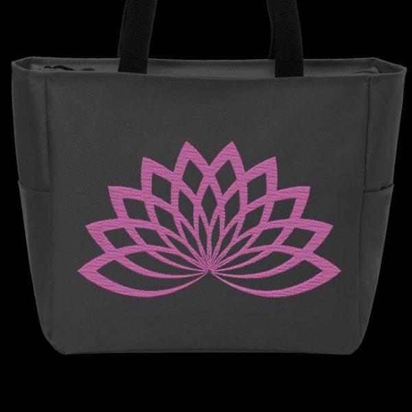 Motif de broderie machine fleur de lotus 3