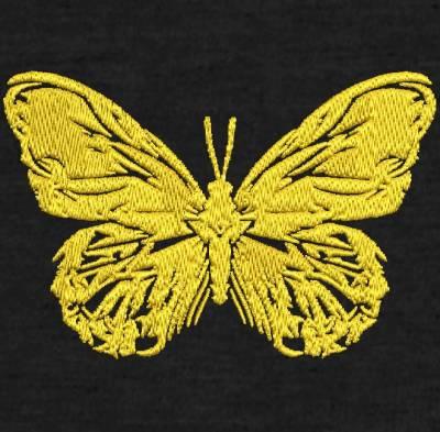 motif de broderie machine papillon graphique.