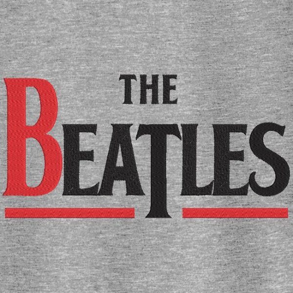 motif de broderie machine the beatles.