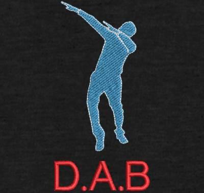 motif de broderie machine DAB danse. cadre: 10 x 10 / 13 x 18 /16 x 26 / 20 x 20 / 20 x 30 . Formats des fichiers dans votre téléchargement PES,CSD,EXP,HUS,SHV,VIP,XXX,DST,PCS,VP3,EMB,JEF…