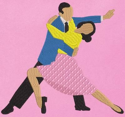 motif de broderie machine danseurs de tango 2. cadre: 10 x 10 / 13 x 18 /16 x 26 / 20 x 20 / 20 x 30 . Formats des fichiers dans votre téléchargement PES,CSD,EXP,HUS,SHV,VIP,XXX,DST,PCS,VP3,EMB,JEF…