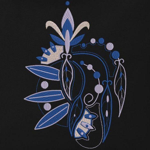 motif de broderie machine style tatouage tatoo 1.plumes et arabesques. cadre: 10 x 10 / 13 x 18 /16 x 26 / 20 x 20 / 20 x 30 . Formats des fichiers dans votre téléchargement PES,CSD,EXP,HUS,SHV,VIP,XXX,DST,PCS,VP3,EMB,JEF…