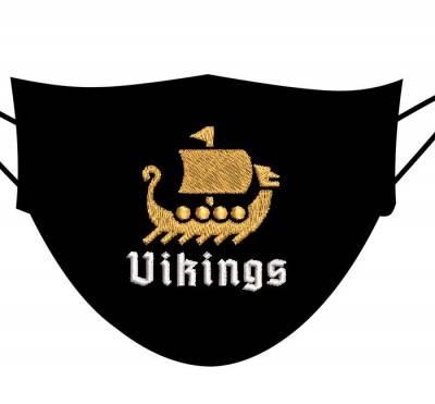 motif de broderie machine drakkar viking 5 cm pour masques. cadre: 10 x 10 / taille du motif : 5 cm . Formats des fichiers dans votre téléchargement PES,CSD,EXP,HUS,SHV,VIP,XXX,DST,PCS,VP3,EMB,JEF…