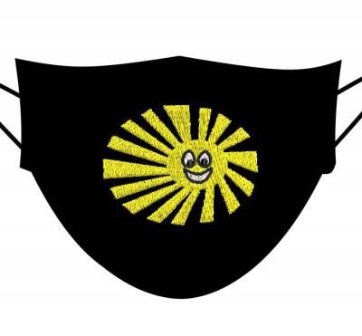 motif de broderie machine soleil souriant 5 cm pour masques. cadre: 10 x 10 / taille du motif : 5 cm . Formats des fichiers dans votre téléchargement PES,CSD,EXP,HUS,SHV,VIP,XXX,DST,PCS,VP3,EMB,JEF…