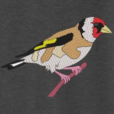 Motif de broderie machine Chardonneret élégant. Le Chardonneret élégant est une espèce de passereaux de la famille des fringillidés, partiellement migratrice, petite et très bariolée. Cette espèce d'oiseau figure sur la liste rouge des espèces menacées en France. cadre: 10 x 10 / 13 x 18 /16 x 26 / 20 x 20 / 20 x 30 . Formats des fichiers dans votre téléchargement PES,CSD,EXP,HUS,SHV,VIP,XXX,DST,PCS,VP3,EMB,JEF… Téléchargement immédiat après votre paiement et aussi disponible dans votre compte.
