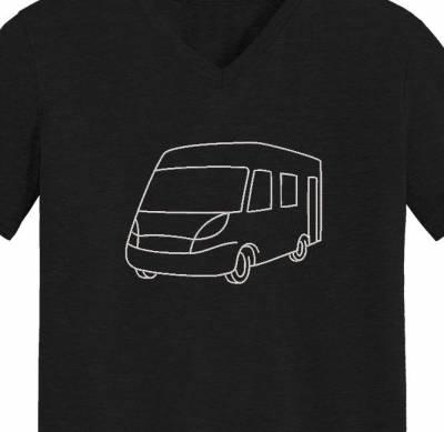 Motif de broderie machine camping car. cadre:10 x 10 / 13 x 18 /16 x 26 / 20 x 20 / 20 x 30 . Formats des fichiers dans votre téléchargement PES,CSD,EXP,HUS,SHV,VIP,XXX,DST,PCS,VP3,EMB,JEF…