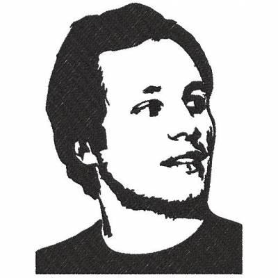 Motif de broderie machine Vianney.auteur-compositeur-interprètefrançais. cadre: 10 x 10 / 20 x 20 . Formats des fichiers dans votre téléchargement PES,CSD,EXP,HUS,SHV,VIP,XXX,DST,PCS,VP3,EMB,JEF… Téléchargement immédiat après votre paiement et aussi disponible dans votre compte.