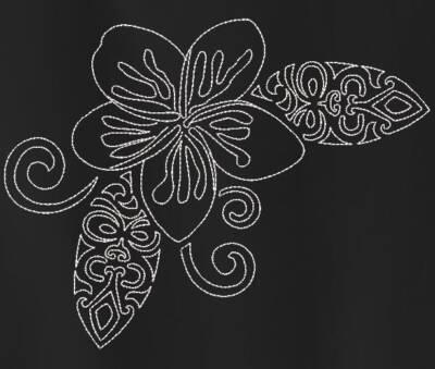 Motif de broderie machine fleur style tribal tatoo. cadre: 10 x 10 / 13 x 18 / 16 x 26 /20 x 20 / 20 x 30 . Formats des fichiers dans votre téléchargement PES,CSD,EXP,HUS,SHV,VIP,XXX,DST,PCS,VP3,EMB,JEF… Téléchargement immédiat après votre paiement et aussi disponible dans votre compte.