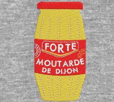 Motif de broderie machine pot de moutarde forte de Dijon. cadre: 10 x 10 / dimension 6 cm et 10 cm . Formats des fichiers dans votre téléchargement PES,CSD,EXP,HUS,SHV,VIP,XXX,DST,PCS,VP3,EMB,JEF… Téléchargement immédiat après votre paiement et aussi disponible dans votre compte.