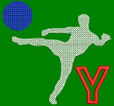 Motif de broderie machine monogramme fan de football Y. cadre: 10 x 10 . Formats des fichiers dans votre téléchargement PES,CSD,EXP,HUS,SHV,VIP,XXX,DST,PCS,VP3,EMB,JEF… Téléchargement immédiat après votre paiement et aussi disponible dans votre compte.