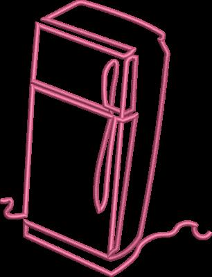 Motif de broderie machine réfrigérateur ou frigidaire. Dimensions : 10 x 10 cm . Formats des fichiers dans votre téléchargement PES,CSD,EXP,HUS,SHV,VIP,XXX,DST,PCS,VP3,EMB,JEF… Téléchargement immédiat après votre paiement et aussi disponible dans votre compte.