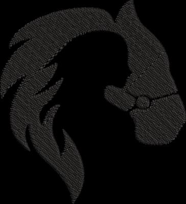 Motif de broderie silhouette femme cheval. Dimensions : 10 x 10 cm / 13 x 18 cm / 20 x 20 cm . Formats des fichiers dans votre téléchargement PES,CSD,EXP,HUS,SHV,VIP,XXX,DST,PCS,VP3,EMB,JEF… Téléchargement immédiat après votre paiement et aussi disponible dans votre compte.