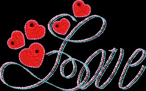 Motif de broderie machine love et ses petits cœurs. Dimensions : 10 x 10 cm / 13 x 18 cm . Formats des fichiers dans votre téléchargement PES,CSD,EXP,HUS,SHV,VIP,XXX,DST,PCS,VP3,EMB,JEF… Téléchargement immédiat après votre paiement et aussi disponible dans votre compte.