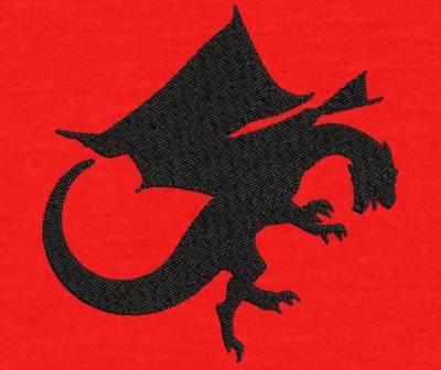 Motif de broderie machine dragon chimère monstre volant. Dimension: 10 x 10 cm . Formats des fichiers dans votre téléchargement PES,CSD,EXP,HUS,SHV,VIP,XXX,DST,PCS,VP3,EMB,JEF… Téléchargement immédiat après votre paiement et aussi disponible dans votre compte. Après avoir téléchargé le dossier vous devez le dézipper pour récupérer le fichier compatible avec votre machine. N'hésitez pas à nous demander le format de fichier de broderie compatible avec votre machine si il ne figure pas dans la liste ci dessus. Merci.