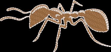 Motif de broderie machine d'une fourmi. Dimensions : 10 x 10 cm . Formats des fichiers dans votre téléchargement PES,CSD,EXP,HUS,SHV,VIP,XXX,DST,PCS,VP3,EMB,JEF… Téléchargement immédiat après votre paiement et aussi disponible dans votre compte. Après avoir téléchargé le dossier vous devez le dézipper pour récupérer le fichier compatible avec votre machine. N'hésitez pas à nous demander le format de fichier de broderie compatible avec votre machine si il ne figure pas dans la liste ci dessus. Merci.