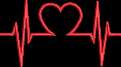 Motif de broderie machine cœur électro cardiogramme. Dimensions : 10 x 10 cm / 13 x 18 cm . Formats des fichiers dans votre téléchargement PES,CSD,EXP,HUS,SHV,VIP,XXX,DST,PCS,VP3,EMB,JEF… Téléchargement immédiat après votre paiement et aussi disponible dans votre compte. Après avoir téléchargé le dossier vous devez le dézipper pour récupérer le fichier compatible avec votre machine.